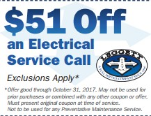 $51 Off Electrical Call